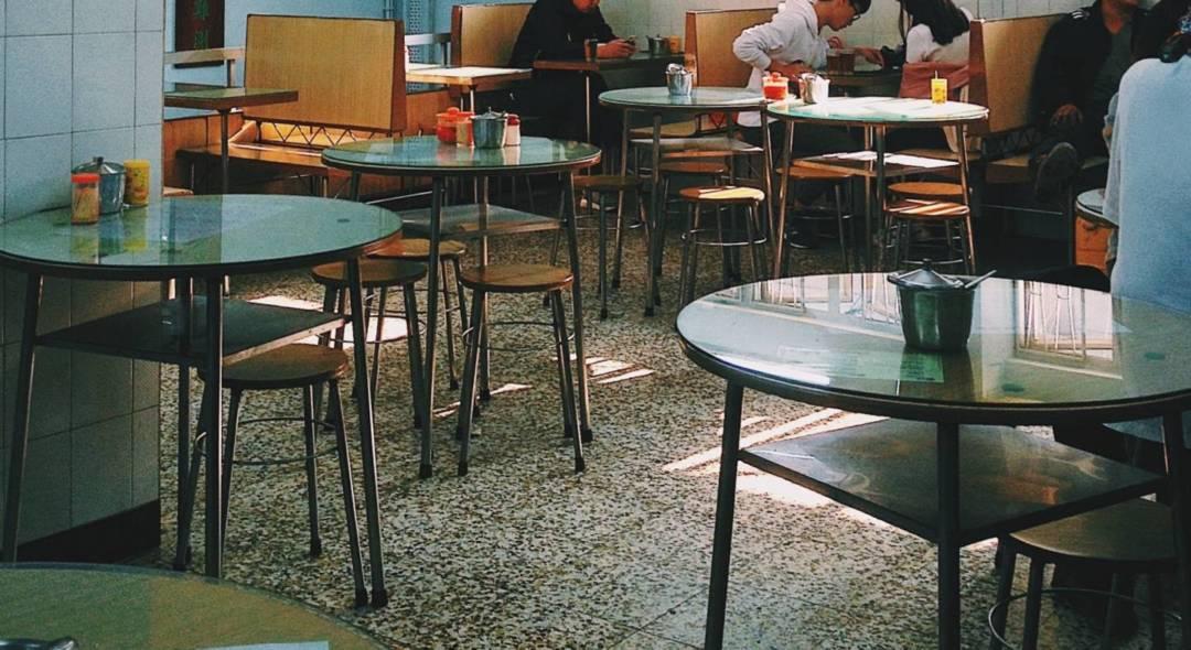 二樓的一撮風景──發記茶餐廳