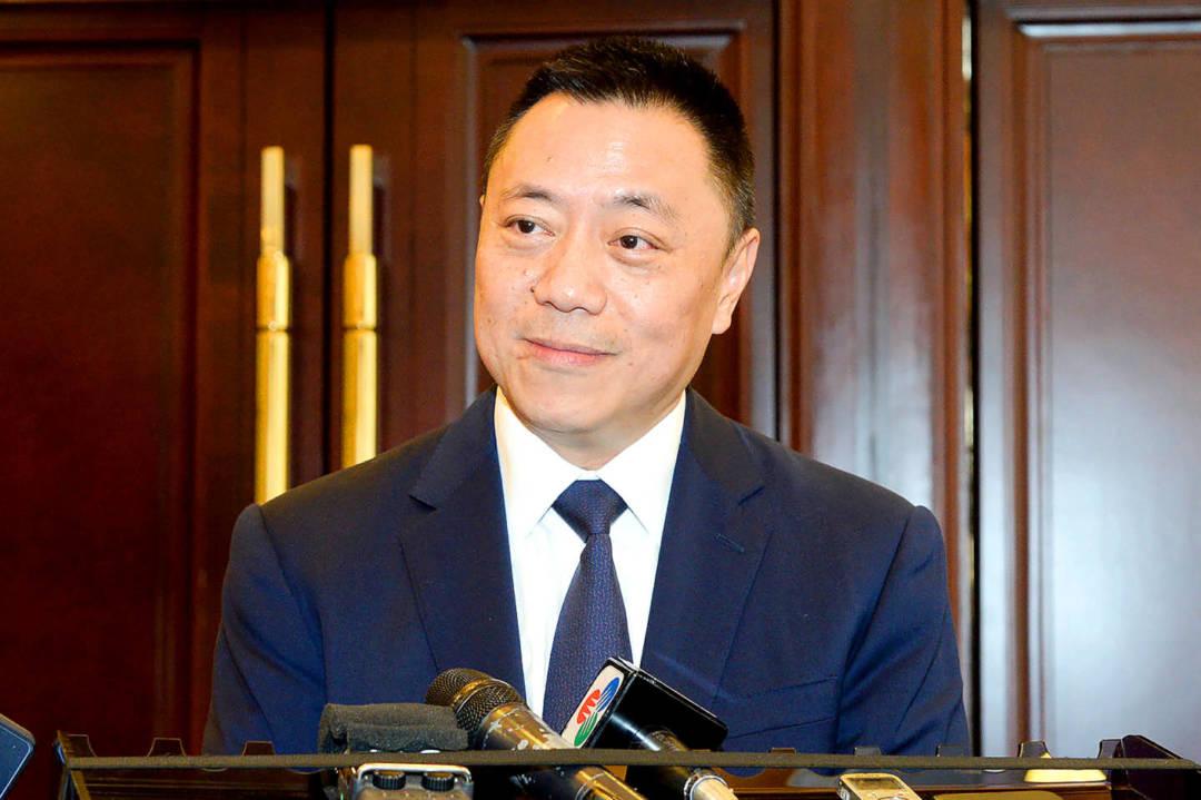 新特首選戰次熱門人選:經濟財政司長梁維特。