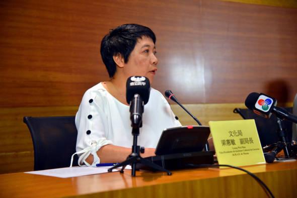 文化局副局長梁惠敏。