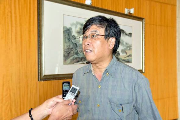立法議員吳國昌。