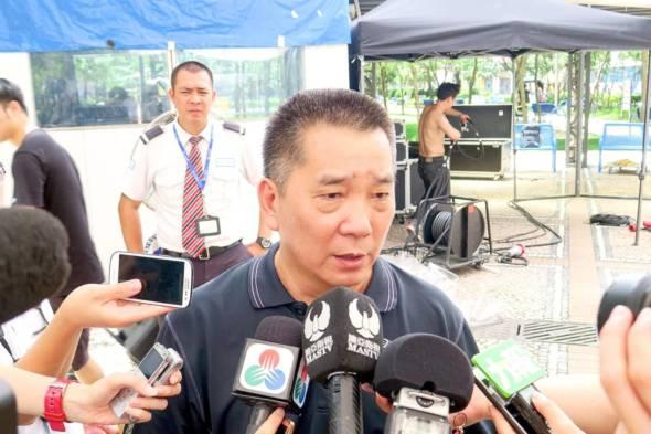 公用事業關注協會理事長鄭仲輝。