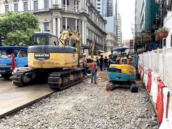 新馬路下水道工程
