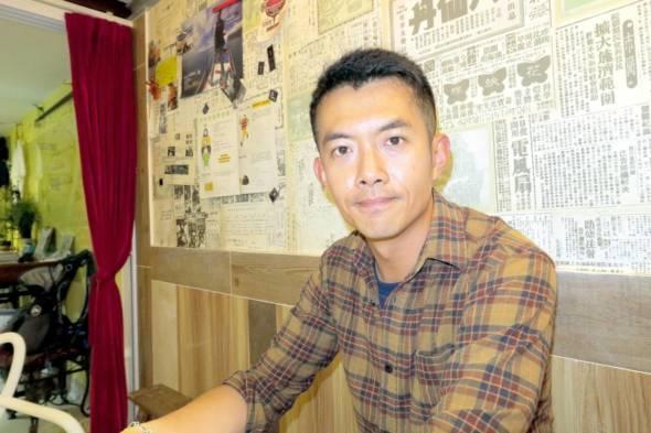 環保人士陳俊明。