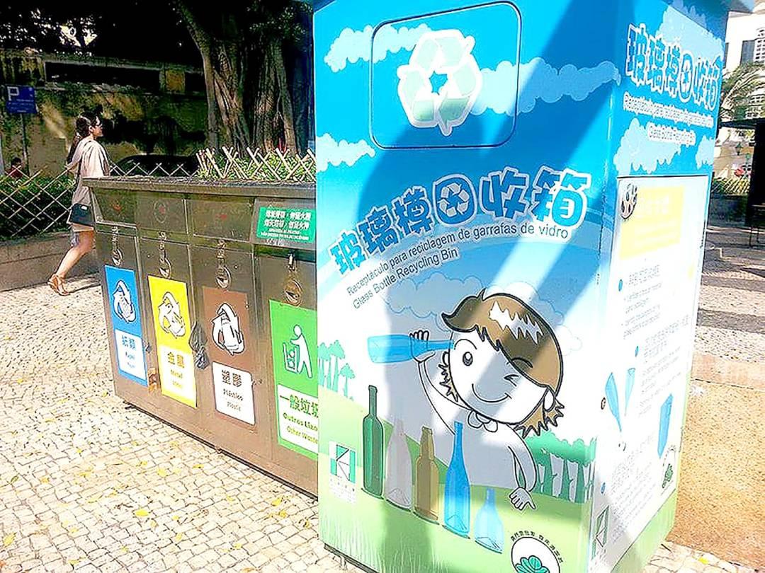林宇滔指出現在環保業界基本已沒有回收膠樽,即使是政府的環保fun等由指定回收商去回收,但除了政府項目外,已看不到還有其他膠樽回收。