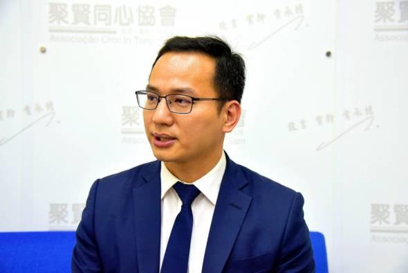曾從事博彩業的立法會直選議員梁孫旭認為,將來博彩業的發展可能也要融入國家發展。