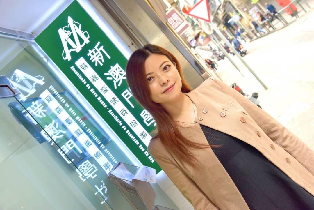 新澳門學社理事長甘雪玲。