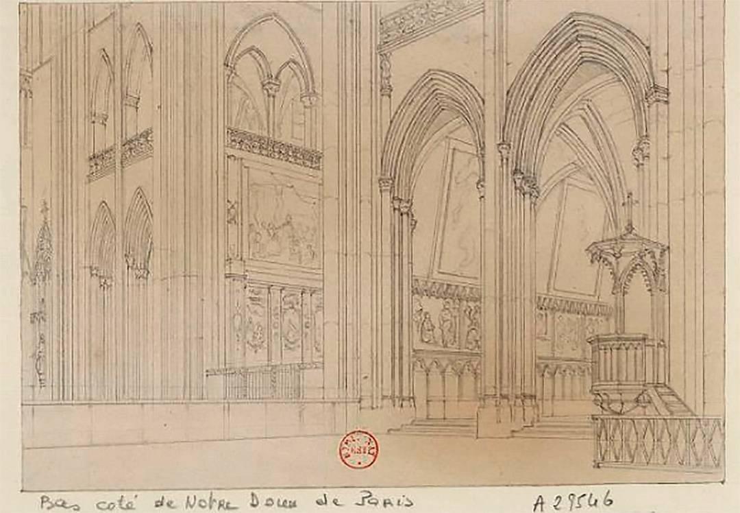 法國國家圖書館網上亦上載了巴黎聖母院的其他圖畫和相片。