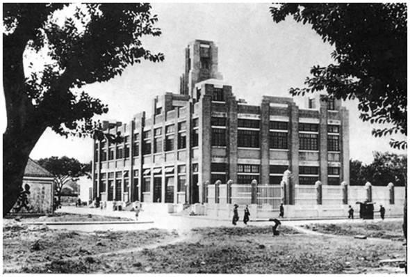 1936年6月建成後的紅街市。