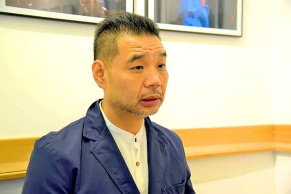 澳門娛樂博彩業中介人協會理事林繼光。