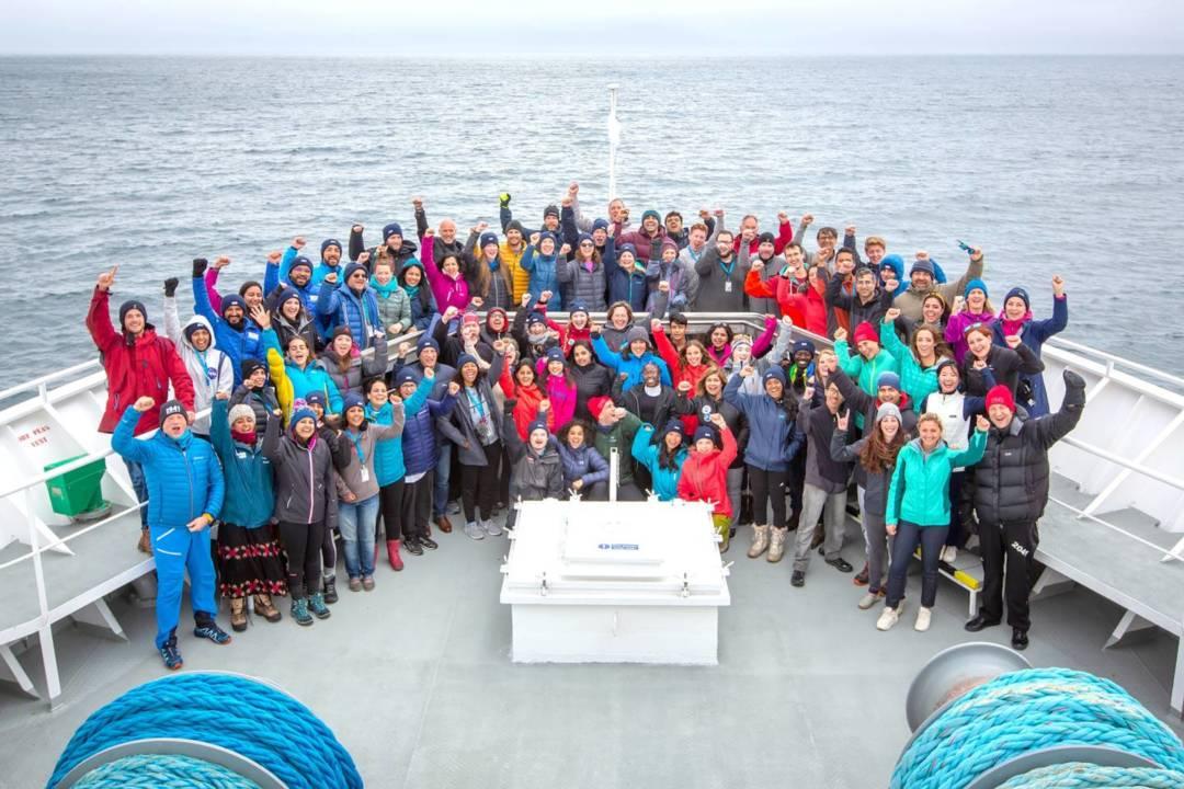 2019年ClimateForce北極考察隊。
