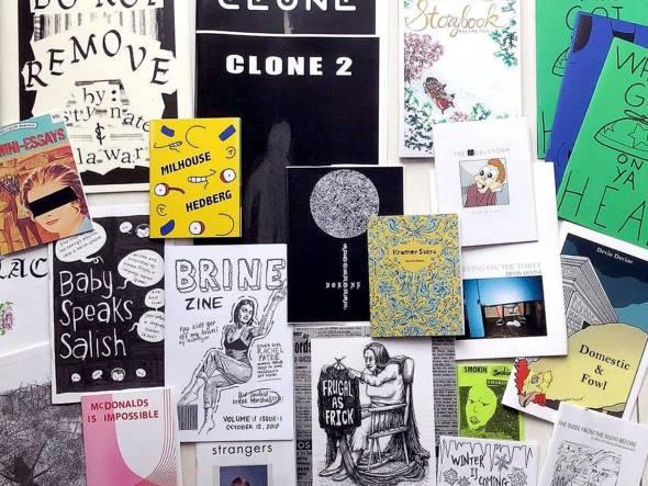 什麼是Zine?有一說法是獨立出版或小規模印刷,不以盈利為目的,區別於主流傳媒或者書籍及雜誌,個人情感強烈、反抗主流文化或傳達某價值觀的無定向文化或藝術產物。