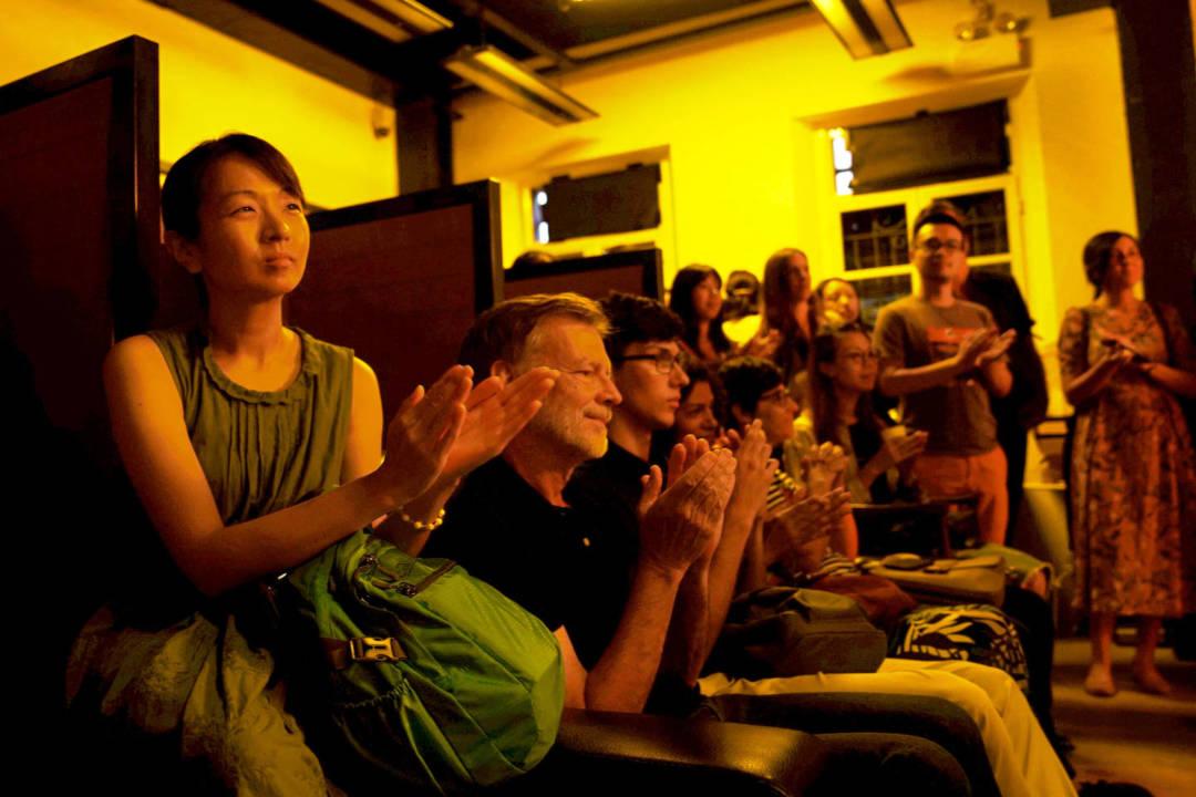 回顧電影館在這三年的營運,電影館放映超過1500場,放映電影超過600齣,入場觀賞的觀眾有6萬名,還未計算工作坊、講座等的參與人數,圖為「4th MOIDF」活動節目。