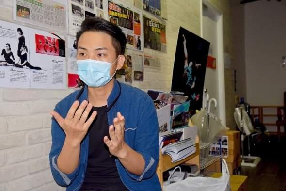 《明年此時》的監製楊彬。