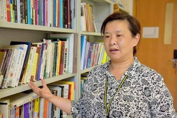 研究移工處境的學者呂家玟。