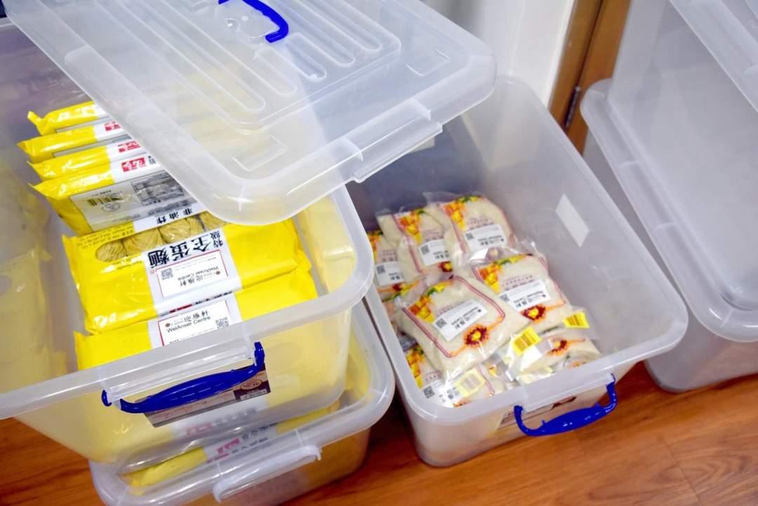 迎雁軒也有為外僱會員準備一些生活物資。