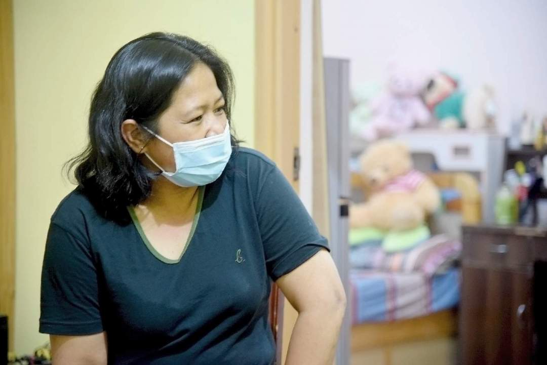 本來外宿的菲律賓家傭Jasmin也在疫情期間應僱主要求在其家中留宿。
