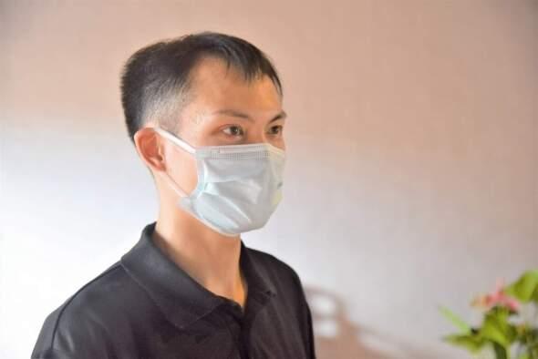 文化局文化遺產保護處技術員陳鵬之。