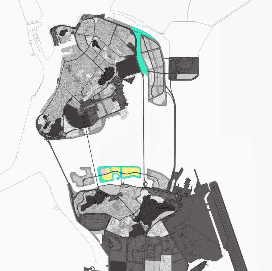 總規諮詢開始才幾天,運輸工務司司長羅立文即表示,特區政府近期已向中央申請填新城A區(上)與澳門半島東北側之間的水道以取代原計劃的填海D區。