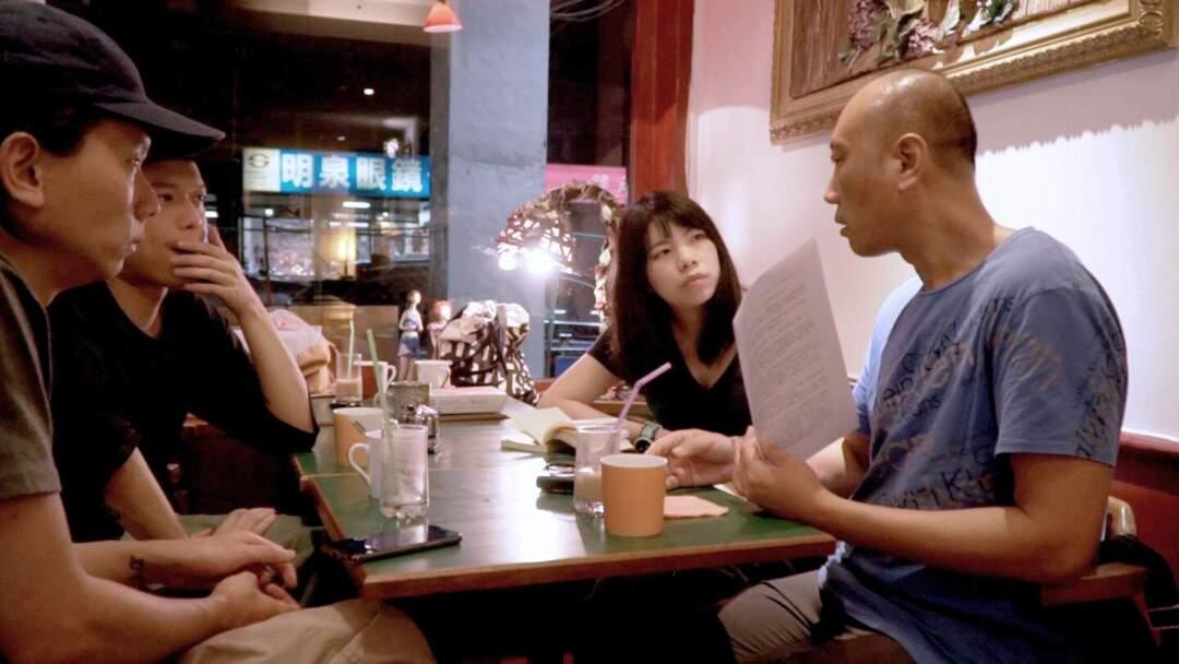 導演李卓媚(右二)也表示,長片計劃是一個很好的推動