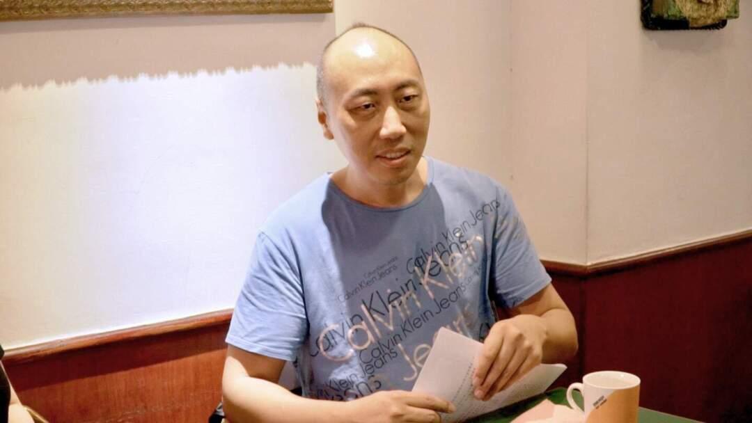 臺灣金穗影展策展人胡延凱。