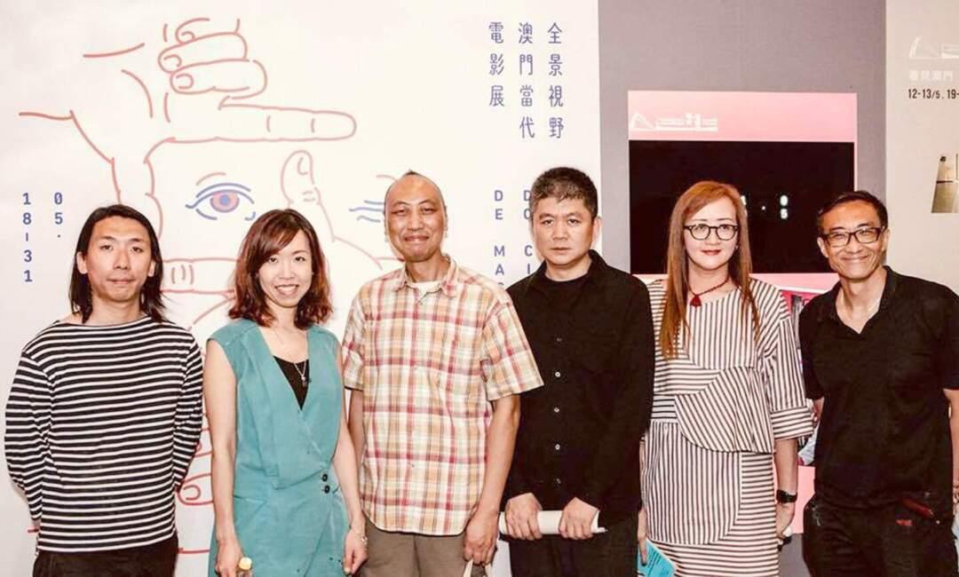 臺灣金穗影展策展人胡延凱(左三)。相片來源:戀愛電影館Facebook專頁