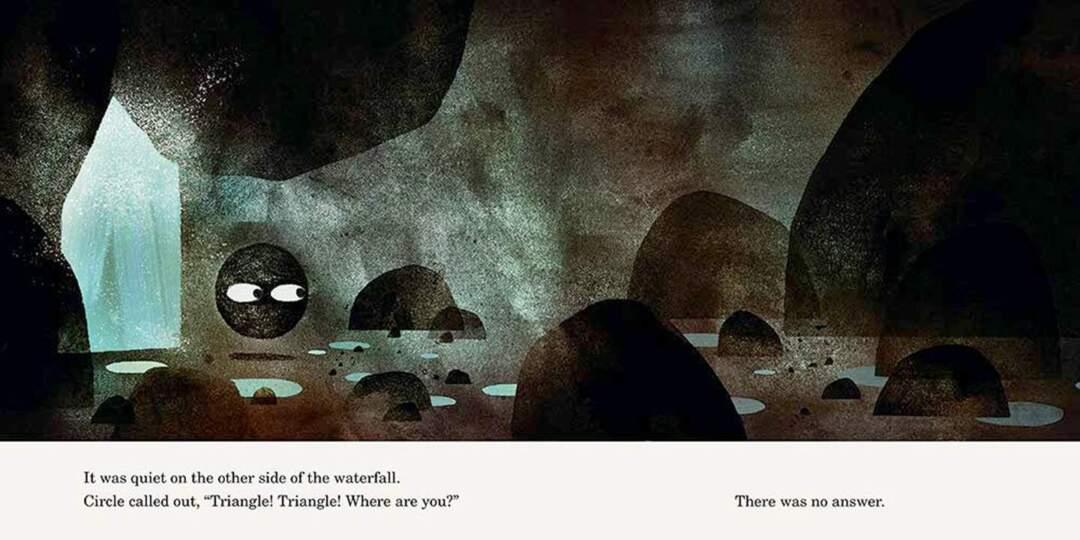 《圓形》,兩條通往黑暗的道路。