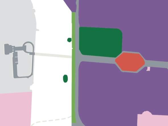 生態二區的濕地被留白,未有劃成深綠色的保護區。 圖片來源:總規諮詢文本