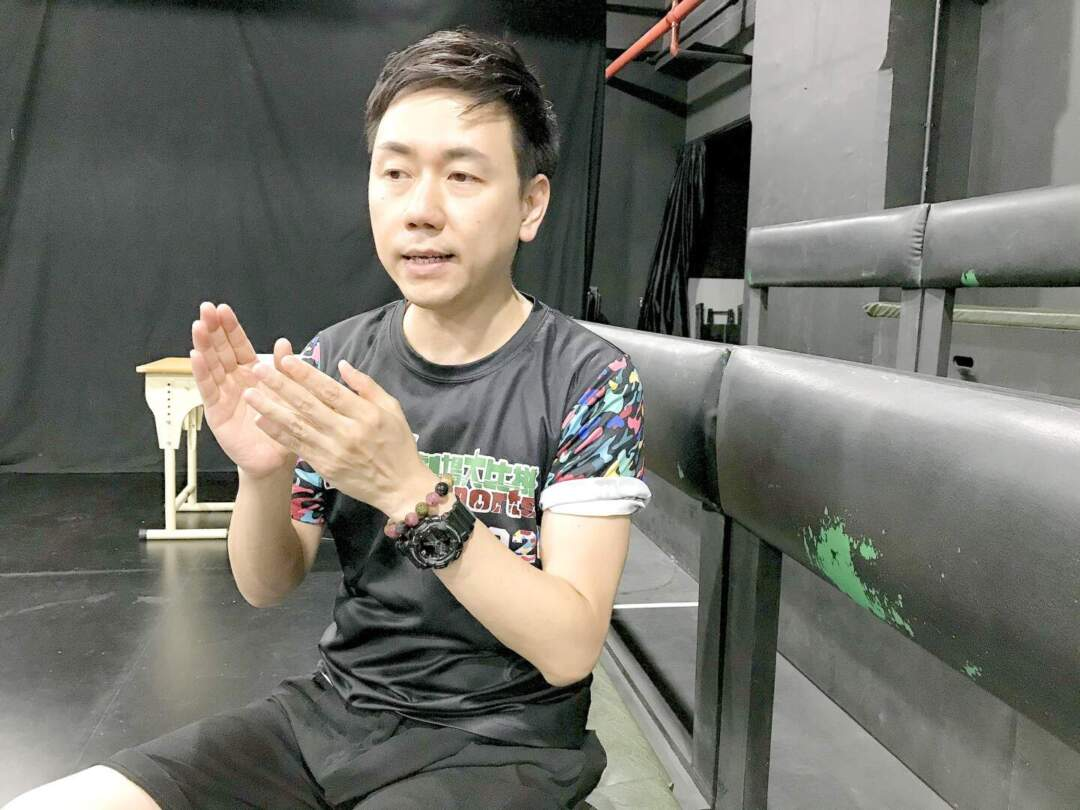 「戲劇農莊」行政總監李俊傑。