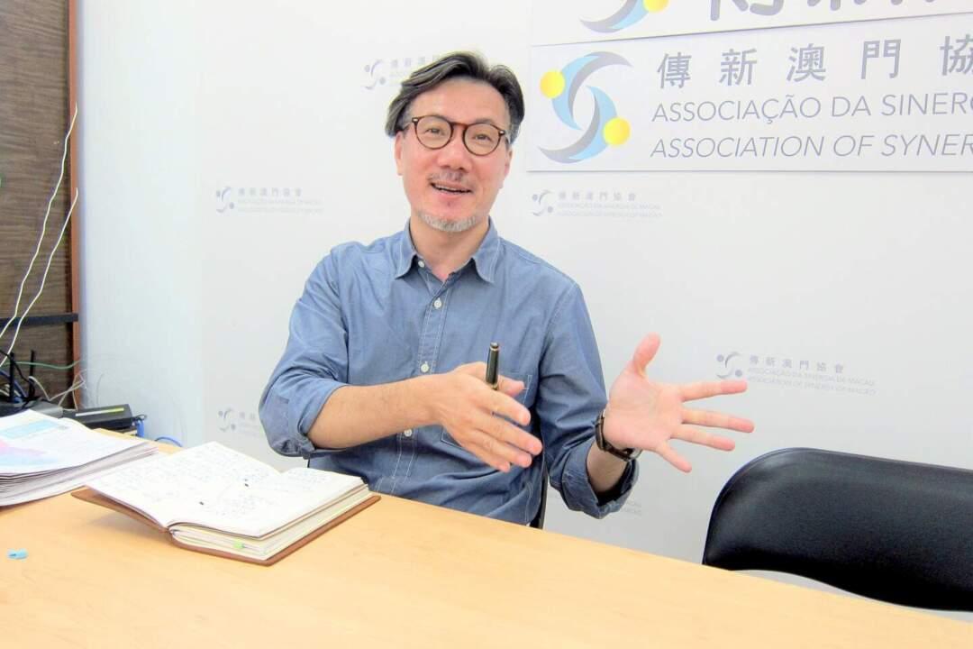 傳新澳門協會副理事長甄慶悅。