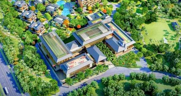 澳門投資股份有限公司於 2018年獲批更改用地規劃,主要是加大大健康產業建設規劃,當中包括高端養生酒店項目「瑞蓮莊」度假主題酒店。網路圖片