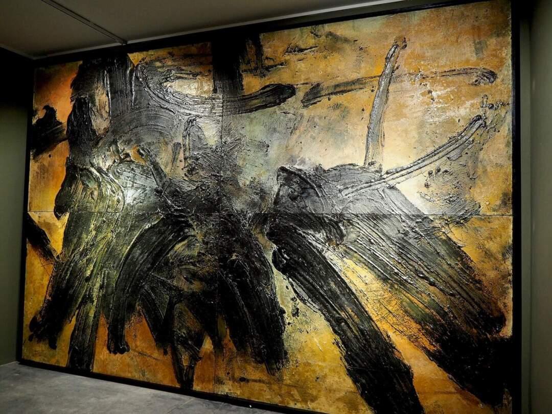 新東方主義,後書法,《爭衡圖》。相片由藝博館提供
