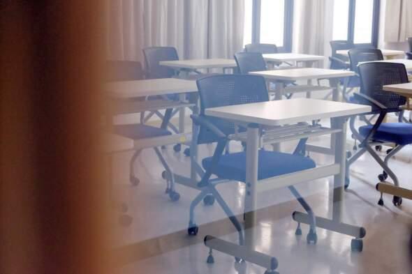 澳門大學課室。